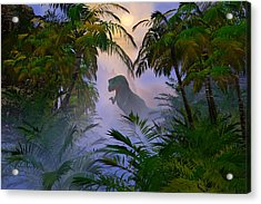 Acrylic Print featuring the digital art Where Are You by Claude McCoy