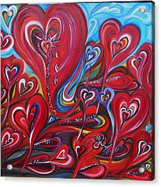 Where Broken Hearts Go Acrylic Print