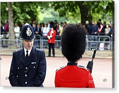 Where Can I Get A Uniform Like That Acrylic Print by James Brunker