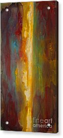 Where Colors Collide Acrylic Print by Todd Karleskein