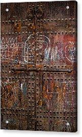 Where Do The Doors In Marrakech Lead? Acrylic Print