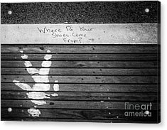 Where Do They Come From? Acrylic Print