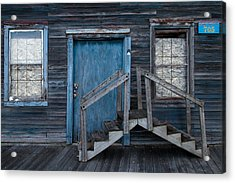 Where Do We Go From Here? Acrylic Print by Chuck De La Rosa