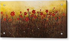 Where Happiness Grows Acrylic Print