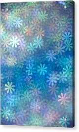 Where Have All The Flowers Gone Acrylic Print by Dazzle Zazz