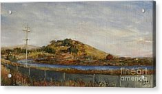 Where The Bay Meets The Hill Acrylic Print
