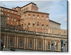 Where The Pope Lives Acrylic Print by Dick Willis