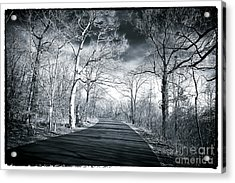 Where The Road Leads Acrylic Print by John Rizzuto