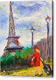 Where To .... Paris  Acrylic Print