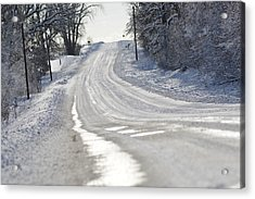 Acrylic Print featuring the photograph Where Will The Road Take You? by Dacia Doroff