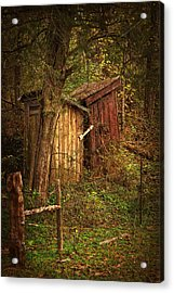 Which Way To The Outhouse? Acrylic Print