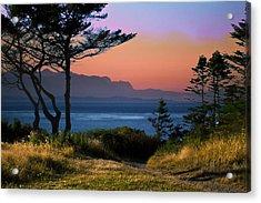 Whidbey Island Sundown Acrylic Print