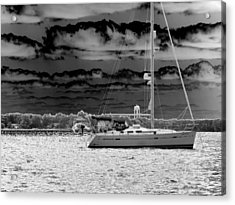 Whilst We Were Sailing Acrylic Print by Rick Todaro