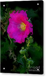 Whimsical Delight Acrylic Print by Vicki Pelham