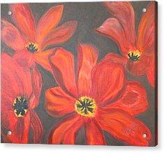 Whimsical Floral Acrylic Print
