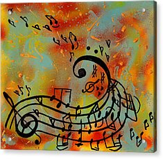 Whimsical Melody Acrylic Print