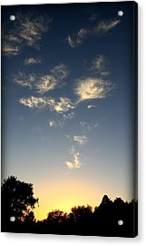 Whimsical Sunset Acrylic Print by Michael Curry