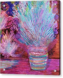 Whimsy Of My Imagination Acrylic Print by Anne-Elizabeth Whiteway
