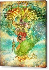Whirligig Acrylic Print by Aimee Stewart