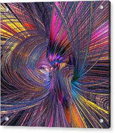 Whirling Acrylic Print
