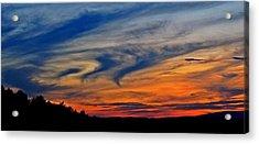 Whirlpool Sunset Acrylic Print