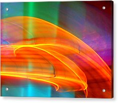 Whirlwind On Venus Acrylic Print by James Welch