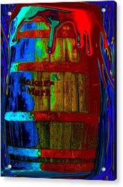 Whiskey A Go Go Acrylic Print