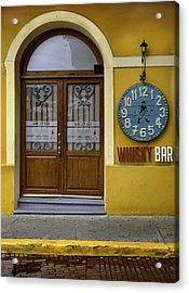 Acrylic Print featuring the photograph Whiskey Bar by Rob Tullis