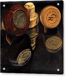 Whiskey Corks Acrylic Print