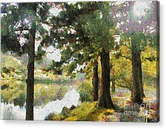 Whisper Through The Trees Acrylic Print