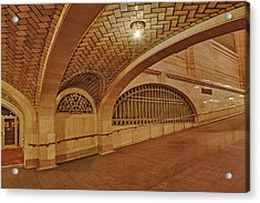Whispering Gallery Acrylic Print by Susan Candelario