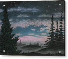 Whispering Pines 02 Acrylic Print