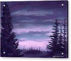 Whispering Pines Acrylic Print