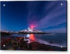Whispy Cloud Acrylic Print by Michael Blanchette