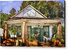 Whistle Stop Cafe Acrylic Print