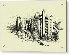 Whistler Art 007 Acrylic Print by Catf