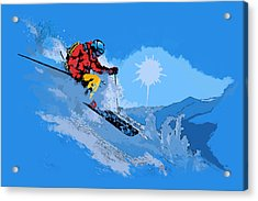 Whistler Art 008 Acrylic Print by Catf