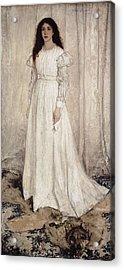 Whistler, James Abbott Mcneill Acrylic Print by Everett