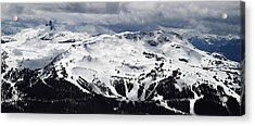 Whistler Mountain View From Blackcomb Acrylic Print by Pierre Leclerc Photography