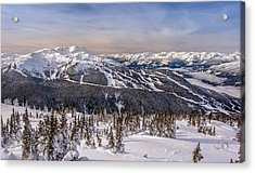 Whistler Mountain Winter Acrylic Print