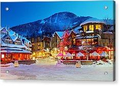 Whistler Village  Acrylic Print