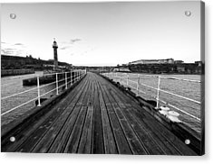 Whitby Acrylic Print by Stephen Taylor