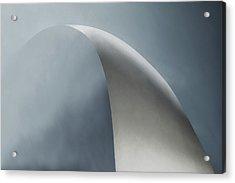 White Bow Acrylic Print