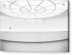 White Box Acrylic Print