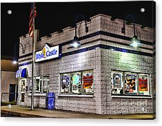 White Castle Acrylic Print by Paul Ward
