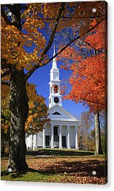 White Church Acrylic Print