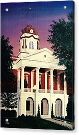 White County Courthouse Acrylic Print