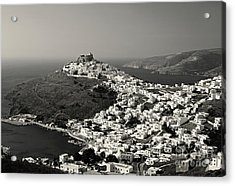 White Gems Acrylic Print by Aiolos Greek Collections