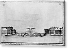 White House, 1821 Acrylic Print by Granger