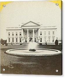 White House, C1882 Acrylic Print by Granger